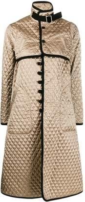 Comme des Garcons diamond quilt coat