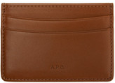 A.P.C. Tan André Card Holder