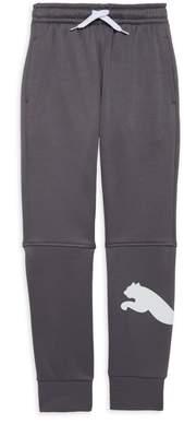 Puma Boy's Logo-Print Jogger Pants