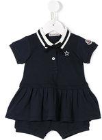 Moncler polo dress set - kids - Cotton/Spandex/Elastane - 12-18 mth