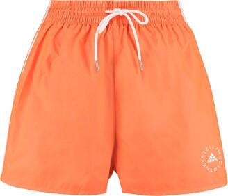 Stella McCartney Josie Logo Print Track Shorts - Adidas By