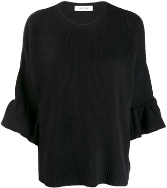 Valentino flared sleeve jumper