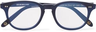 Kingsman + Cutler And Gross D-Frame Acetate Optical Glasses