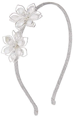 Monsoon Jewelled Wire Flower Alice Hair Band