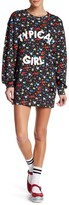 Love Moschino Typical Girl Floral Pullover Dress