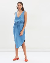 DECJUBA Mexico Chambray Dress