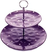 Maxwell & Williams Maxwell & WilliamsTM Sprinkle 2-Tier Cake Stand in Purple