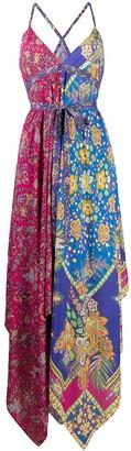 Etro Asymmetric Midi Dress