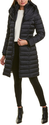 Laundry by Shelli Segal Fitted Puffer Coat