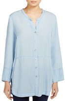 Nic+Zoe Chambray Button Down Top