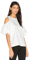 Blaque Label Cold Shoulder Top