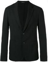 Giorgio Armani two button blazer - men - Polyamide/Polyester/Spandex/Elastane/Virgin Wool - 48