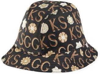 Gucci Ken Scott x monogram canvas hat