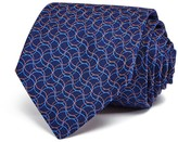 Turnbull & Asser Interlocking Lines Wide Tie