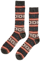 Anonymous Ism Wool J Q Crew Sock Charcoal Grey