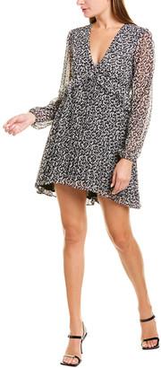 The Kooples Baroque Lace Mini Dress