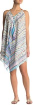 Pool' Pool To Party Printed Halter Neck Cover Up Dress