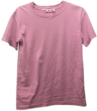 Helmut Lang Pink Cotton Top for Women