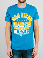 Junk Food Clothing Nfl San Diego Chargers Tee-blueberry-xxl
