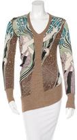Jean Paul Gaultier Printed Knit Top