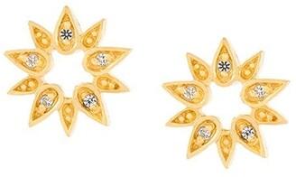 Astley Clarke 'Mini Sun Biography' stud earrings