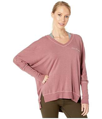 good hYOUman Carrie Its All Good V-Neck Pullover (Twilight Mauve) Women's Clothing