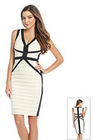 Jax Colorblock Banded Dress
