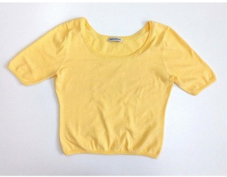 Iris von Arnim Yellow Cotton Tops
