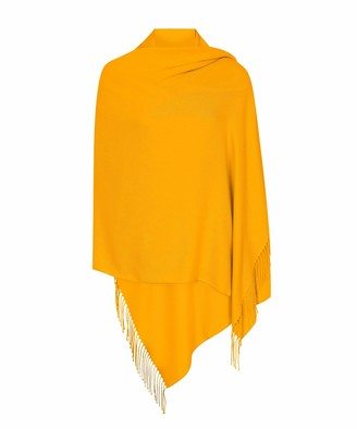 Pashminas And Wraps P&W Made in Italy (30+ Stunning Colours Available) Pashmina Shawl Wrap Stole Scarf for Women - Super Soft - Versatile - Generous Size - Pashminas & Wraps of London Exclusive - Ivory White