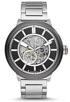 Armani Exchange ATLC Automatic Skeleton Bracelet Watch