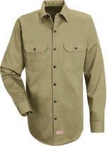 JCPenney Red Kap Deluxe Heavyweight Cotton Shirt
