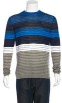 Kenzo Striped Crew Neck Sweater w/ Tags