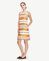 Ann Taylor Mod Stripe Shift Dress