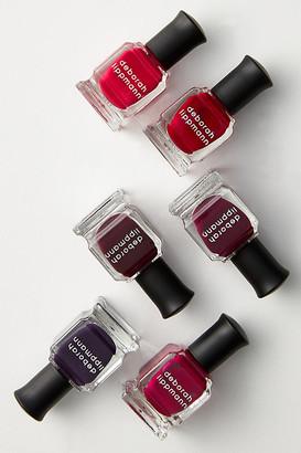 Deborah Lippmann Very Berry Nail Polish Gift Set By in Red
