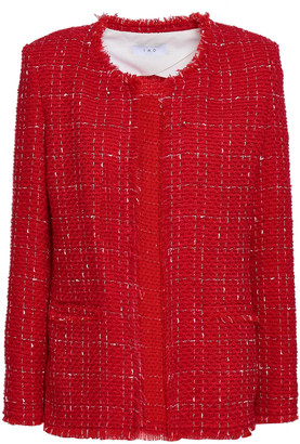 IRO Quespo Wool-blend Tweed Jacket