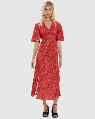 Cooper St Alessandra Empire Midi Dress
