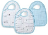 Aden + Anais Infant Boys' Liam the Brave Bibs, 3 Pack