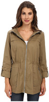 Sam Edelman Cotton Anorak w/ Hood Detail