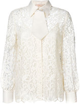 Tory Burch lace embroidered blouse
