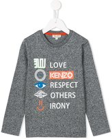 Kenzo printed top - kids - Cotton - 2 yrs