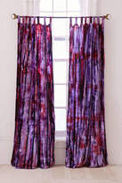 Urban Outfitters Eden Tie-Dyed Velvet Window Curtain