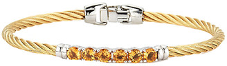 Alor Burano 14K 1.33 Ct. Tw. Citrine Bangle Bracelet