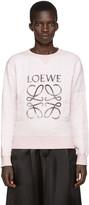 Loewe Pink Anagram Logo Pullover