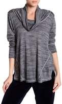 Allen Allen Long Sleeve Cowl Neck Sweater