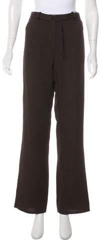 Ann Demeulemeester Wool-Blend Wide-Leg Pants