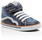 Geox Boys' Kiwi High Top Sneakers - Toddler