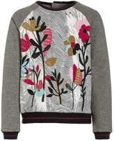 Catimini GRAPHIC FLORAL Sweatshirt chine