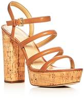 MICHAEL Michael Kors Nantucket Strappy Block Heel Platform Sandals