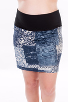 Bellybedaine Maternity Look Jeans Skirt