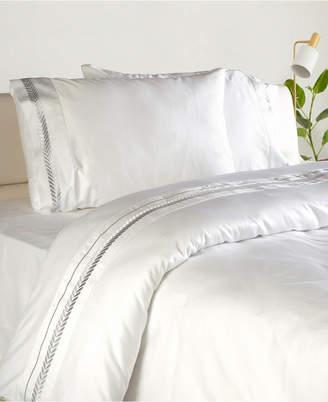 Enchante Home Lafayette 3 pieces Turkish Cotton Sateen King Duvet Cover Set Bedding
